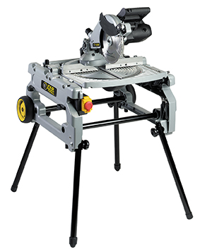 Bench and mitre saw combinated
